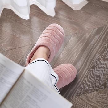 【居家棉拖】远港男女士棉拖鞋冬季保暖防滑厚底加绒