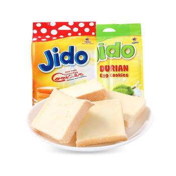 越南进口jido京都系列鸡蛋面包干大包装