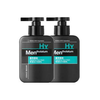 【2瓶】曼秀雷敦(Mentholatum) 保湿活力洁面乳 150ml