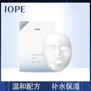 IOPE舒颜柔和补水面膜10P