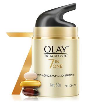 玉兰油多效修护润舒霜50g 7效合1 滋养肌肤 减少细纹