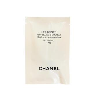 香奈儿(Chanel)米色时尚亮肌粉底液(12号) 2.5ml