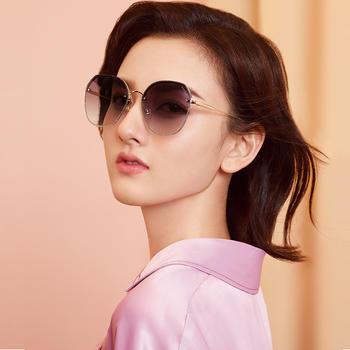帕森太阳镜女 宋祖儿明星同款方框尼龙镜片潮墨镜遮阳镜 新款8261