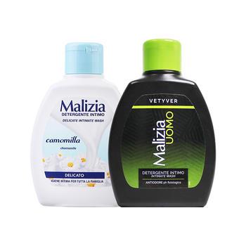 玛莉吉亚男士私处护理液 (香根草)200ml+女性私处护理液(洋甘菊