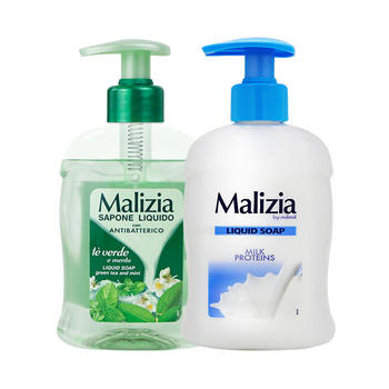 玛莉吉亚 洗手液(绿茶薄荷)300ml+(牛奶花香型)300ml