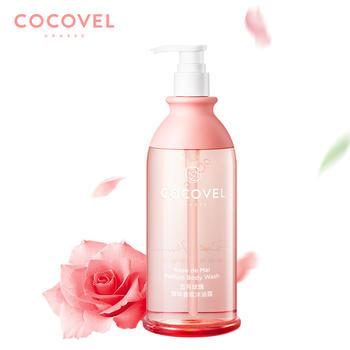 COCOVEL氨基酸香氛玫瑰花瓣沫浴露女 香水持久留香沐浴乳液小香瓶