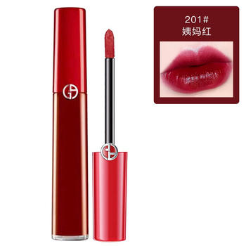 阿玛尼(Armani)丝绒哑光唇釉201# 200# 6.5ml