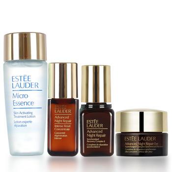 美国•雅诗兰黛 (Estee Lauder)小棕瓶眼霜小样精华旅行套装