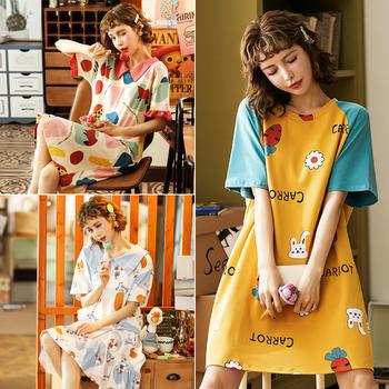 【抢半价2件46元3件66元】日系针织棉女睡裙夏季舒适吊带裙休闲睡衣