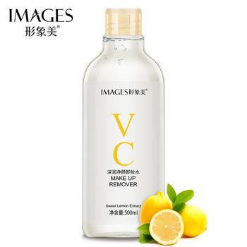 形象美大容量VC深润净颜卸妆水温和清洁滋润清爽深层洁净卸妆水