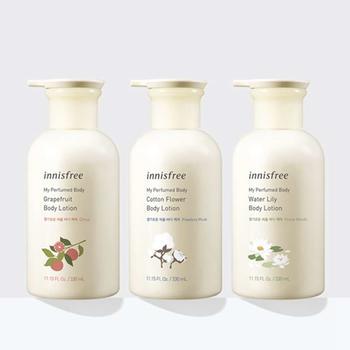 悦享美肌香氛身体乳 5款香气可选 通过丰富多彩的自然香气
