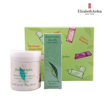 雅顿绿茶香氛二件套绿茶香氛30ml+蜜滴身体霜250ml(送礼品袋)