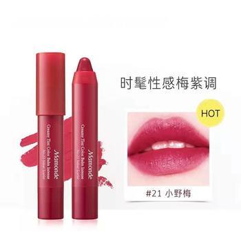 Mamonde韩国梦妆花心绒唇膏笔2.5g 21#小野莓