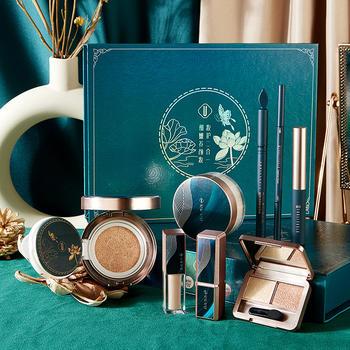 一盒八件套花翡翠玉容彩妆套装化妆品全套网红达人推荐