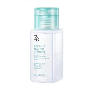 ZA姬芮清润眼唇卸妆液90毫升眼唇脸三合一温和清洁