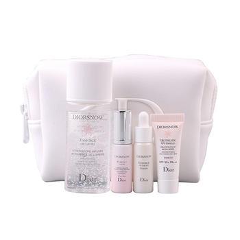 迪奥雪精灵护肤礼盒套装 微凝珠水 修颜乳 精华乳 防晒乳 化妆包